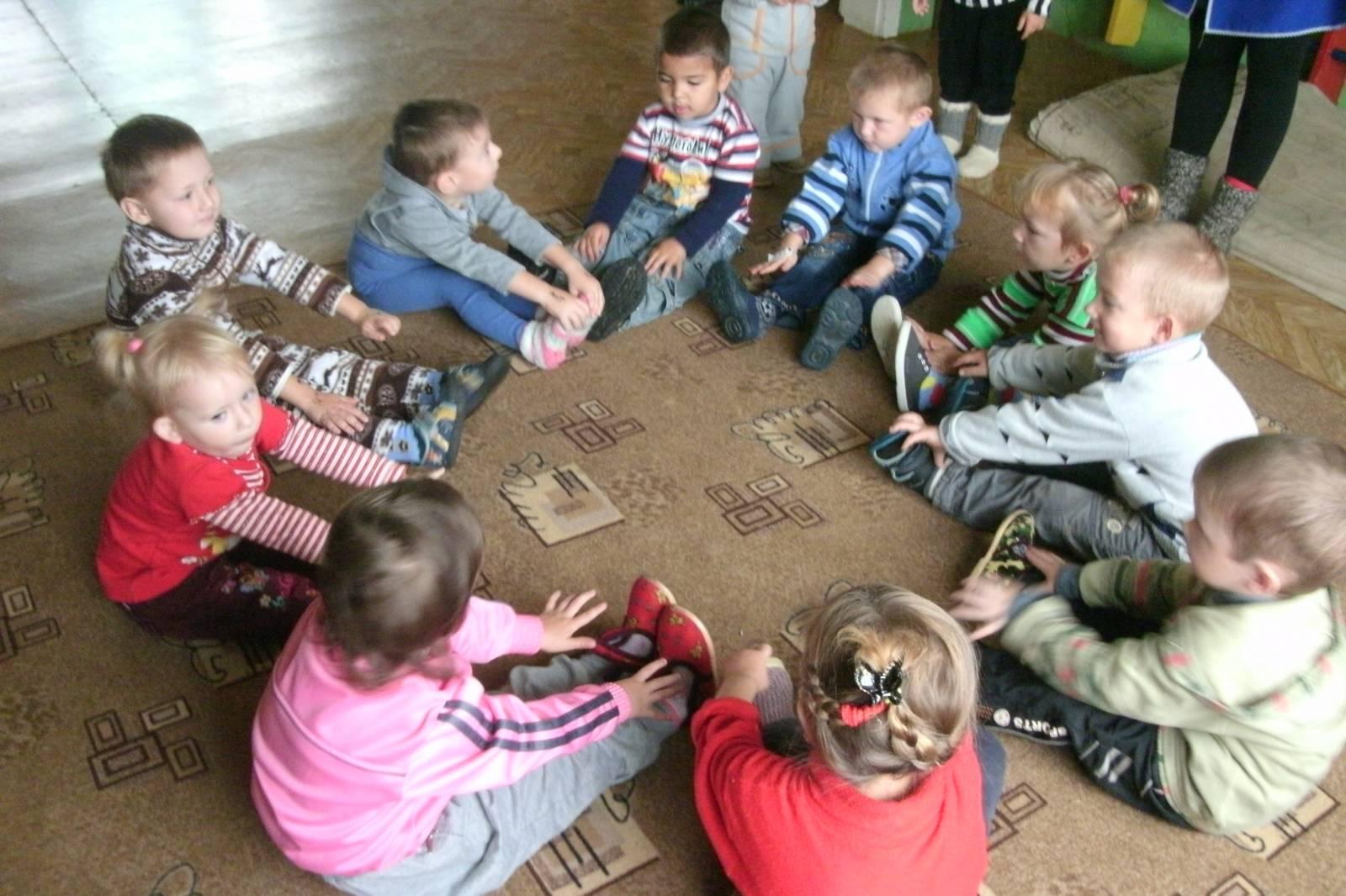 Фото детей и их родителей в детском саду